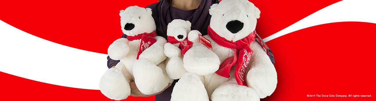 Coke Bears Plush