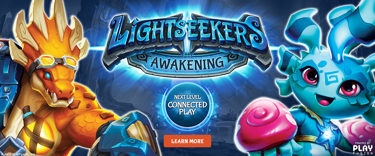 Lightseekers Next Level Connected Play