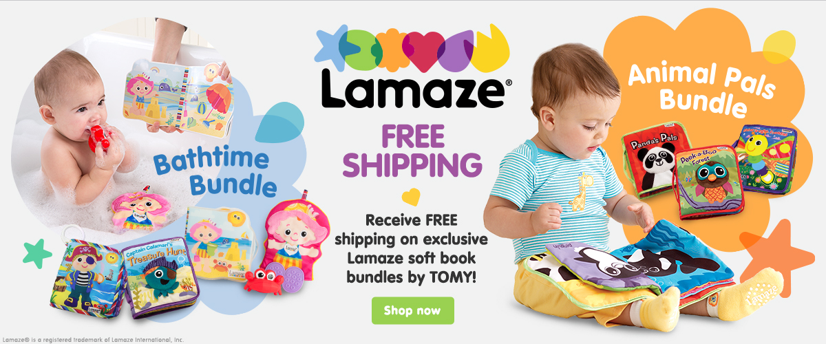 Lamaze Soft Book Bundles