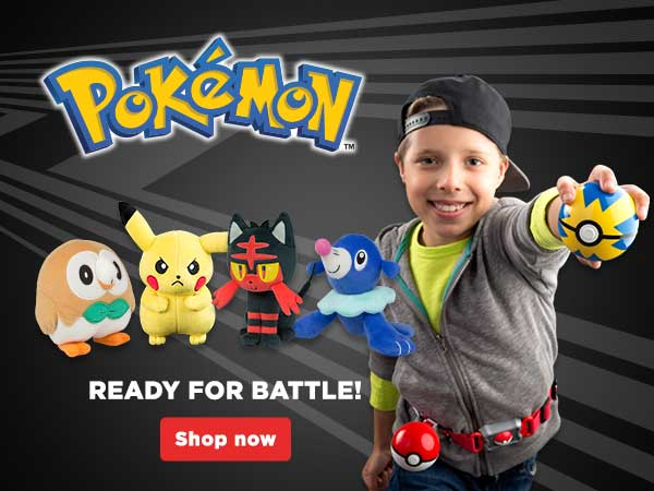 Pokémon Plush and Role Play