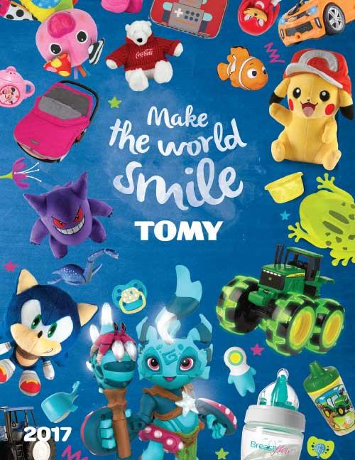 Tomy 2017 Catalog