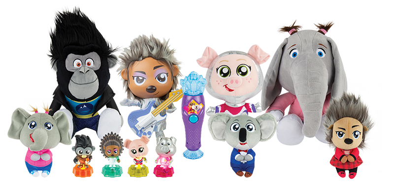 Sing 2 Figure and Plush assortment