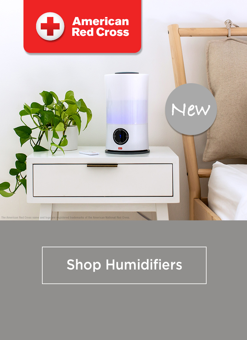 American Red Cross Humidifiers. Shop Now.