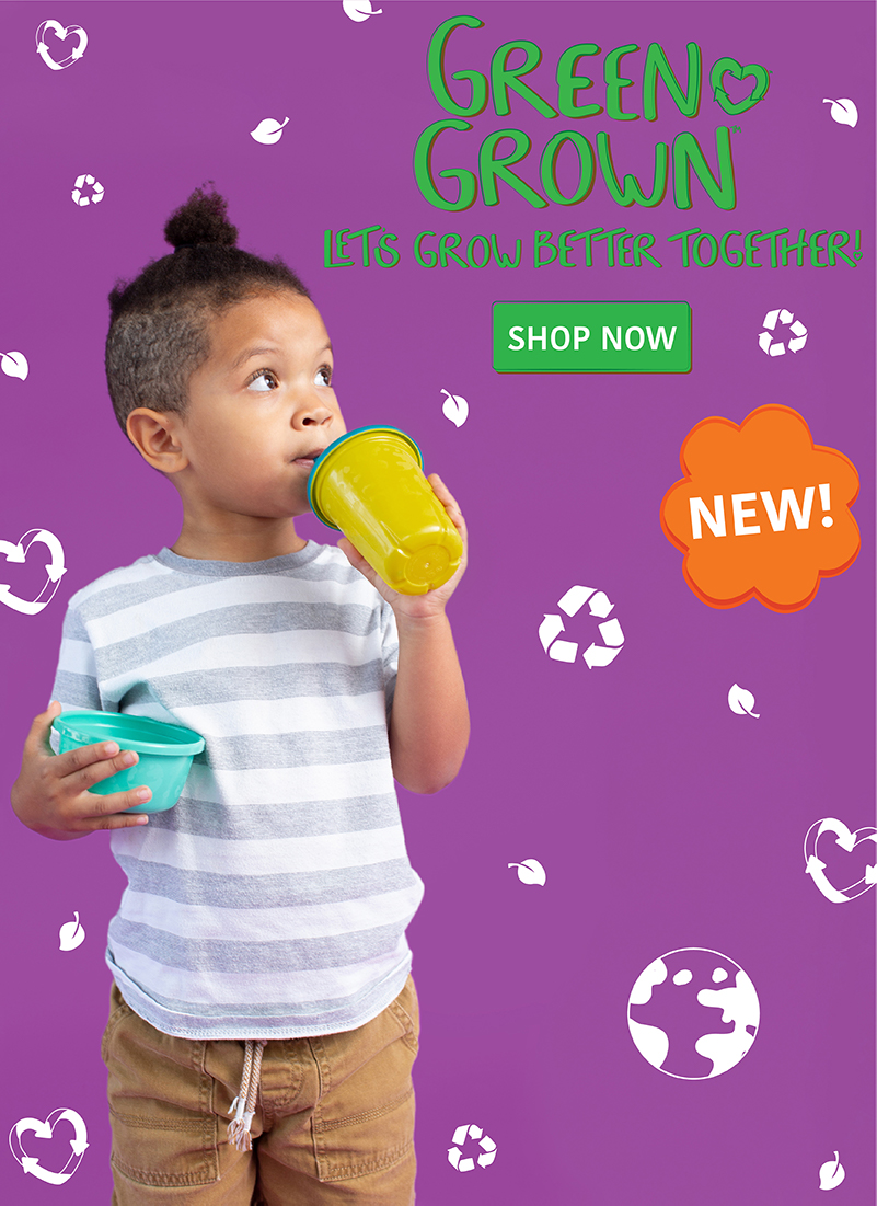 Green Grown. Shop Now.
