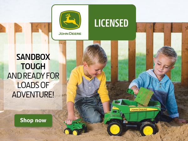 John Deere Sandbox Toys