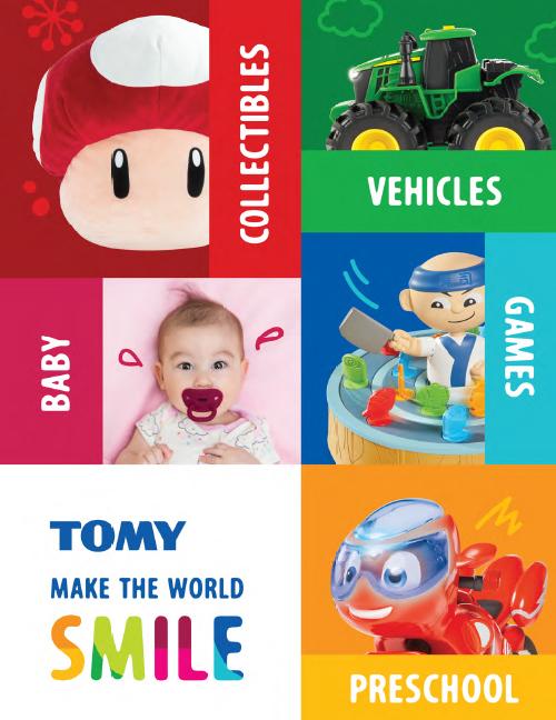Tomy 2020 Catalog